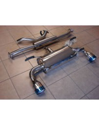 Toyota GT86 Top Speed Catback Exhaust System with 114mm Tips Scion
