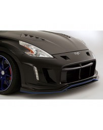 Varis FRP Arising 2 Front Bumper Lip Replacement Nissan 370Z Z34 09-18