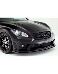 Varis Front FRP Bumper for Vehicles with Safety Shield Infiniti M37 M56 Y51 Fuga 11-13