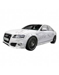 VIS Racing 2009-2012 Audi A4 4Dr A Tech Side Skirts