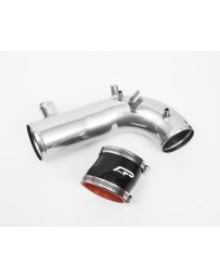 "Agency Power Hard Turbo Inlet Pipe Kit with 3"" Coupler Super Chrome Subaru STI WRX Forester 02-17"