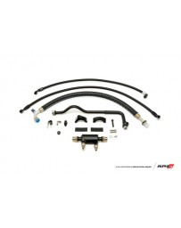 AMS Performance 2009+ Nissan GT-R R35 (LHD Only) Alpha Fuel Cooler Kit with Alpha Fuel Rails