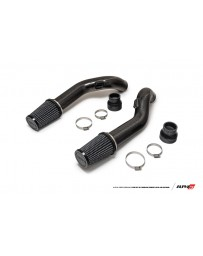 AMS Performance 2009+ Nissan GT-R R35 (CBA/DBA) Alpha Carbon Fiber Intake Pipes for Stock Turbos