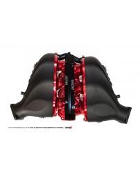 AMS Performance 09+ Nissan GT-R Alpha Cast Plenum/Billet Intake Manifold w/Secondary Fuel Rail - Clr