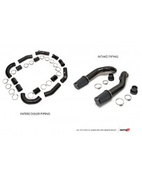 AMS Performance GT-R R35 Induction Kit with Stock Turbos / Alpha I/C/Carbon Manifold/TB/TiAL Flanges
