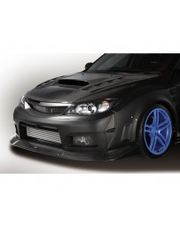 Varis Front VSDC Bumper and Front Diffuser Subaru STi GRB 08-16