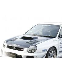 Varis Aero Carbon Bonnet Subaru WRX GDB A 02-16