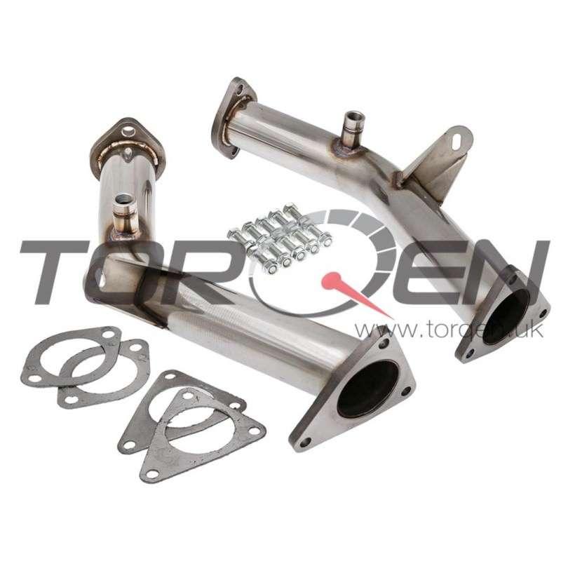 350Z HR Berk Technology Test Pipes