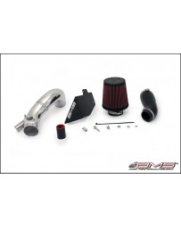 AMS Performance 2009+ Lancer Ralliart Short Ram Intake with Breather Bungs - Polished