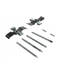 350z Centric Front Brake Pins and Clip Hardware Kit with Brembo Calipers