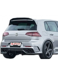 VIS Racing 2015-2017 Volkswagen Golf Apex Style Rear Bumper