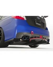 Varis Half Rear Carbon Diffuser Subaru WRX VAB 15-16