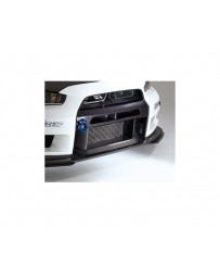 Varis Front FRP Bumper Version 2 with Super Taikyu Under Lip Mitsubishi EVO X CZ4A 08-15
