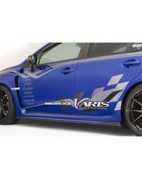 Varis Carbon Side Under Board Set Subaru WRX VAB 15-16
