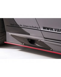 Varis Carbon Side Skirt Option Brake Duct Nissan GTR R35 09-20