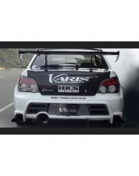 Varis Rear FRP Bumper Subaru WRX GDB C-D-E 02-15