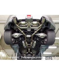 370z HKS Super Sound Master Exhaust System