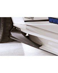 Varis Carbon Side Skirt Version 2 Replacement Air Shroud Mitsubishi EVO X CZ4A 08-15