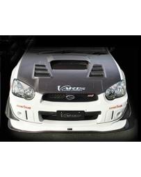 Varis Front FRP Spoiler Subaru STi GDB C-D-E 02-15