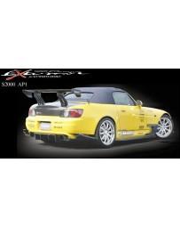 Varis Rear Carbon Diffuser Medium Honda S2000 AP1 00-09