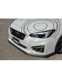 Charge Speed Carbon Bottom Line Front Lip (CFRP) Subaru Impreza Sport GT 5 Doors 16-18