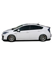 ChargeSpeed Bottom Line Side Skirts Carbon (Japanese CFRP) Toyota Prius 10-15