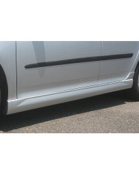 Spazio Nova Side Skirts (Japanese FRP) Volkswagen Golf V 05-09
