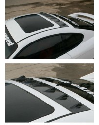 ChargeSpeed Carbon Roof Fin (Japanese CFRP) Hyundai Tiburon GK Coupe 03-06