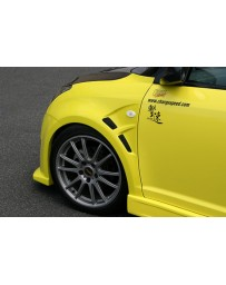 ChargeSpeed Front Fenders FRP (Japanese FRP) Suzuki Swift Sport Model Z31S 04-10