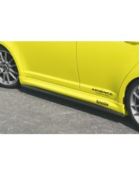 ChargeSpeed Bottom Lines Carbon Side Skirts (Japanese CFRP) Suzuki Swift Sport Model Z31S 04-10