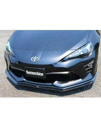 ChargeSpeed 2017-2020 Toyota 86 Late Stage/ Kouki Model Bottom Lines Type 1 FRP Front Lip (Japanese FRP)