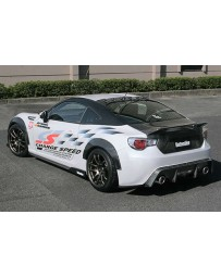ChargeSpeed Type 2 Complete Lip Kit with Carbon Over Fenders 9 Piece Subaru BR-Z ZC-6 17-18