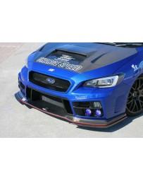 ChargeSpeed Type-1B Front Bumper w/Carbon Under Part Subaru WRX STi 15-18