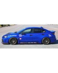 ChargeSpeed Type-2B Complete Kit with Front Carbon Under Part Subaru WRX STi 15-18
