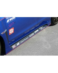 ChargeSpeed Type1 FRP Side Skirts Subaru WRX 15-17