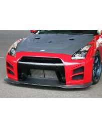 ChargeSpeed GLO Front Bumper Nissan GT-R R35 09-20