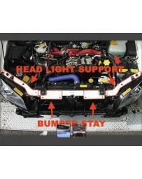 ChargeSpeed Model Face Lift Conversion Brackets 04-05 GD-B to 06-07 GD-F Subaru Impreza 04-05