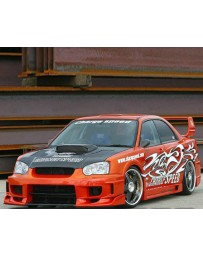 ChargeSpeed Wide Body Super GT Full Kit Subaru Impreza 04-05