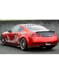 ChargeSpeed Bottom Line Carbon Full Lip Kit Infiniti G35 Coupe 06-07