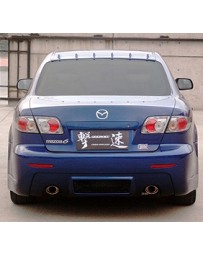 ChargeSpeed Rear Bumper Mazda 6 03-08