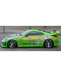 ChargeSpeed GT Wide Body Side Skirts Nissan 350Z 03-08