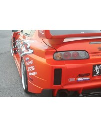 ChargeSpeed GT Wide Body Rear Blister Fenders 77mm Toyota Supra JZA80 93-98