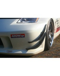 ChargeSpeed Carbon Upper Canards Nissan 350Z 03-08