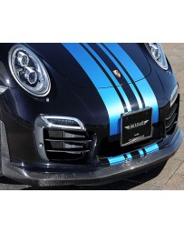 Artisan Spirits Sports Line Black Label O.F.K. Edition Carbon Front Lip Spoiler Porsche 911 Turbo S