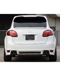 Artisan Spirits Black Label Rear Half Spoiler Porsche Cayenne Turbo 11-17