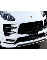 Artisan Spirits Black Label Front Under Spoiler Porsche Macan Turbo 15-18