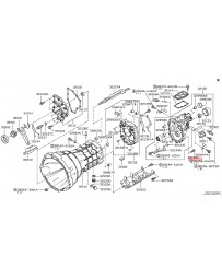 370z Nissan OEM Transmission Case & Clutch Release