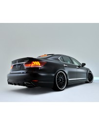 Artisan Spirits Sports Line Rear Half Spoiler Lexus LS600h F-Sport 12-15