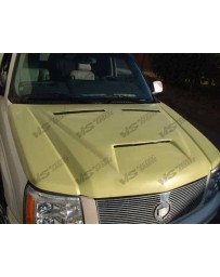 VIS Racing 2002-2006 Cadillac Escalade Fiber Glass Outlaw Type 1 Hood