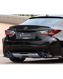 Artisan Spirits Black Label Stainless Steel Dual Exhaust System Lexus RC-F 15-17